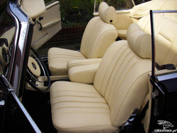 mercedes benz w111 car upholstery