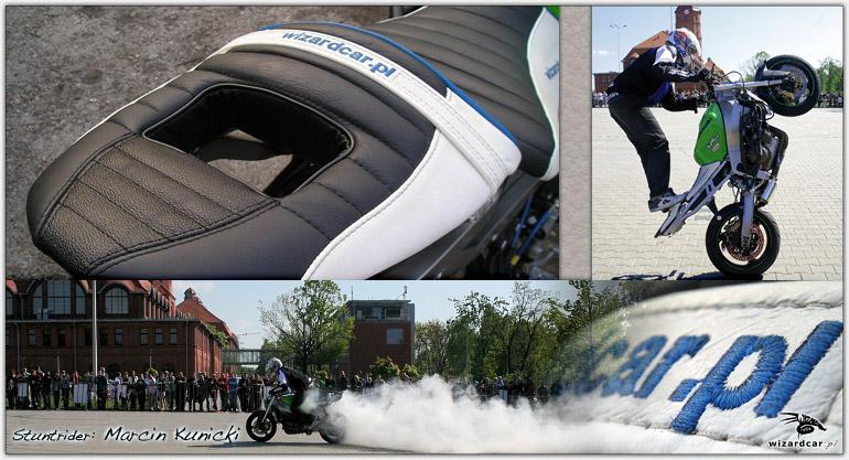 Motorradsitzbänke und Motorradsattel aus Kunstleder und Leder